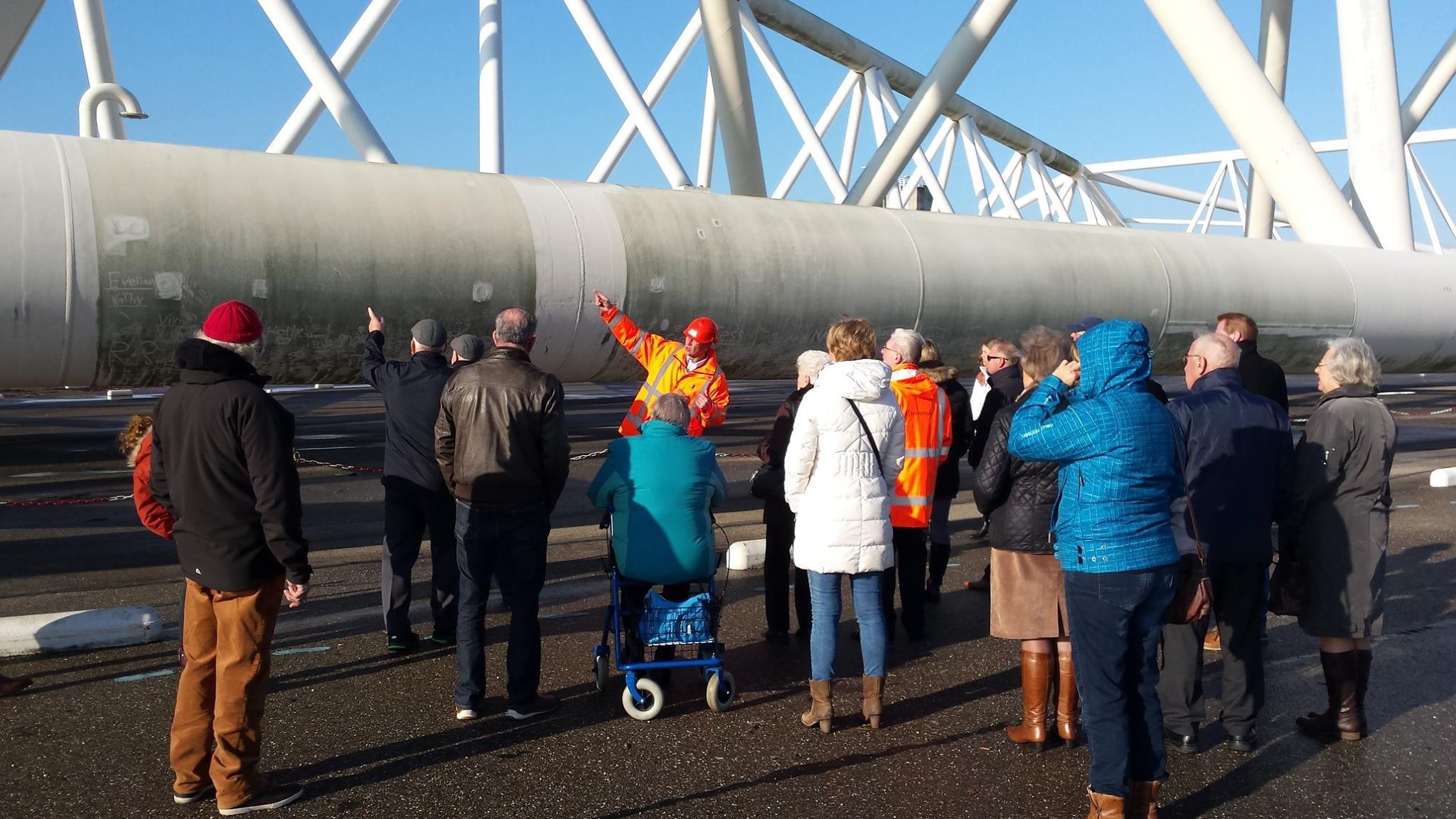 Maeslantkering keringhuis guided tours Rotterdam Holland Delta Works