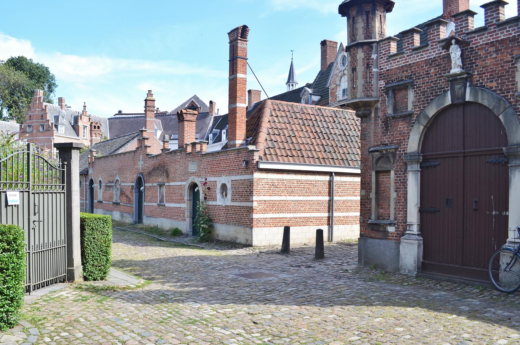 Begijnhof Antwerpen GO Experience touroperator DMC Belgium Holland