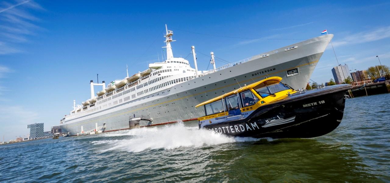 SS Rotterdam Hotel New York Watertaxi Rotterdamexperience GO Experience travel reisen
