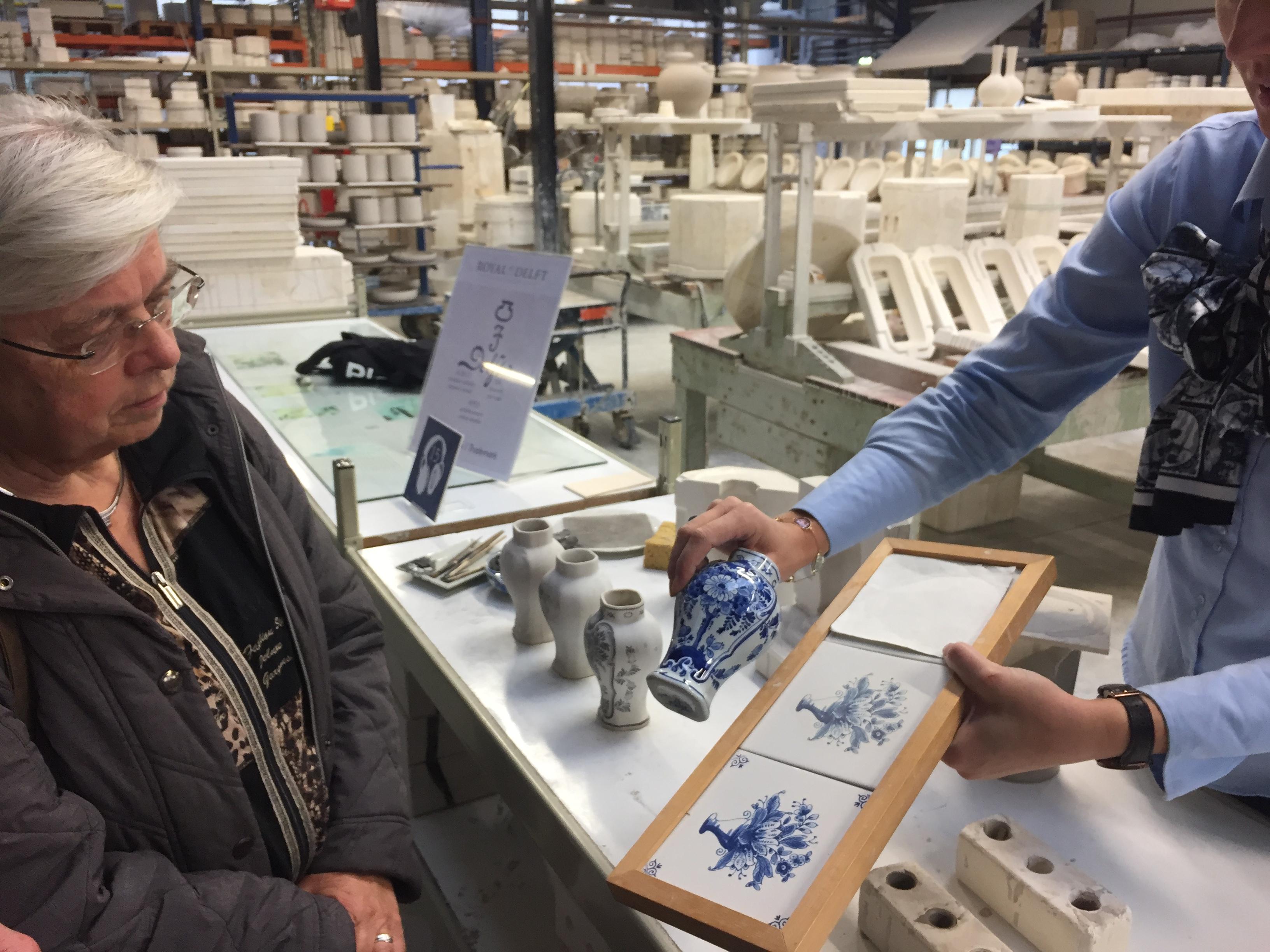 Delft GO Experience Royal Delft porcelain Delfts Blaauw Blue