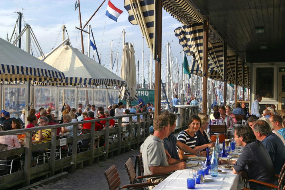 The Hague Den Haag GO experience Scheveningen harbor terrace