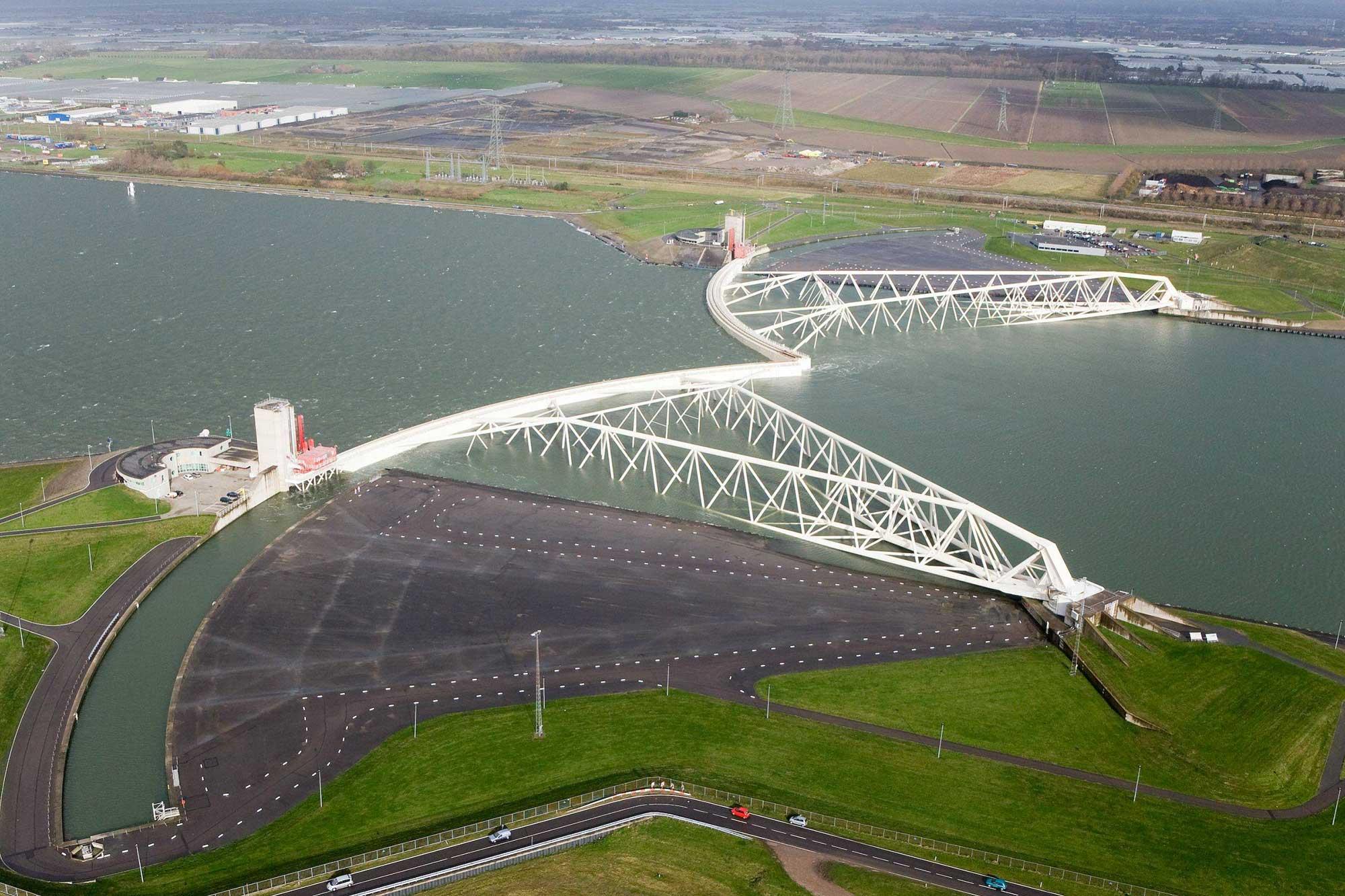 Delta Works Holland Holanda Maeslantkering GO experience