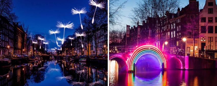Amsterdam Light Festival GO Experience touroperator guided tours