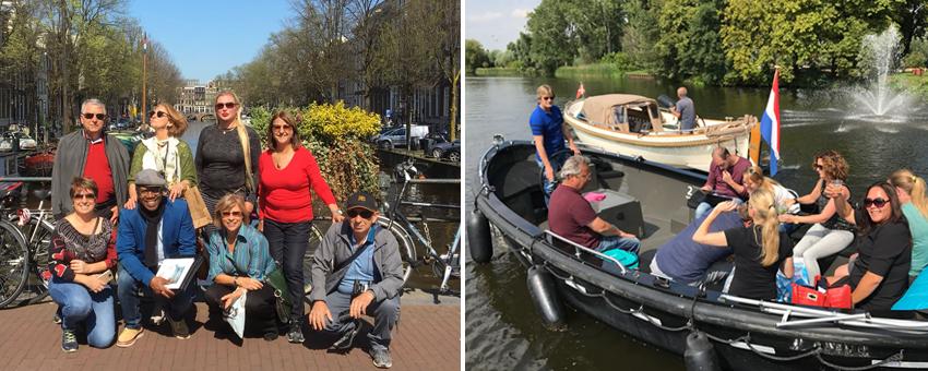 Touroperator Holland Belgium GO Experience Amsterdam Rotterdam boat tour