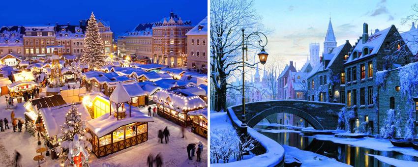 Winter in Europe Holland Belgium touroperator GO Experience