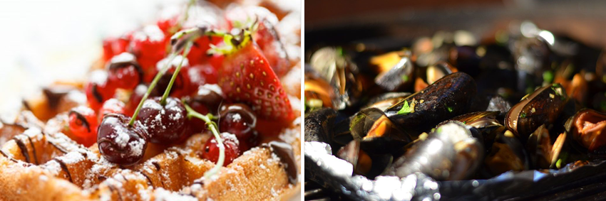 Belgian Waffles Belgian Mussels A taste of Belgium Tour GO Experience guided tour touroperator