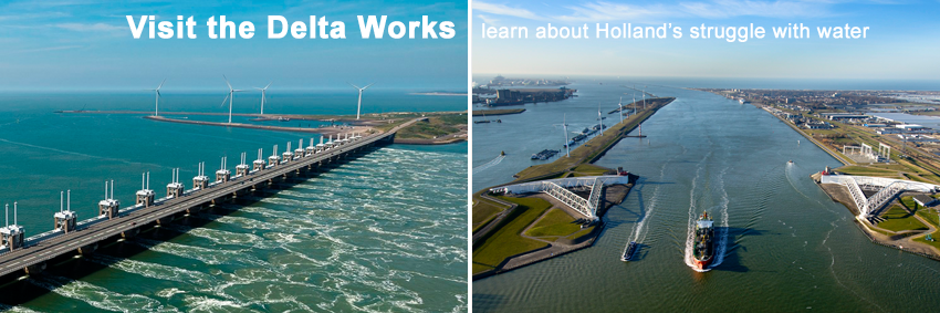 Delta Works tour Go Experience deltawerken touroperator local guide Maeslantkering Oosterscheldekering Storm Surge Barrier