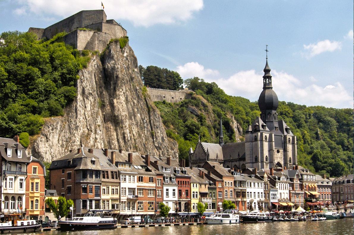 Dinant Wallonia Belgium guided tours GO Experience touroperator DMC Belgium Holland
