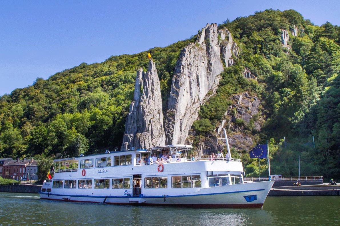 Namur Boat tour Guided Tours GO Experience touroperator DMC Belgium Holland