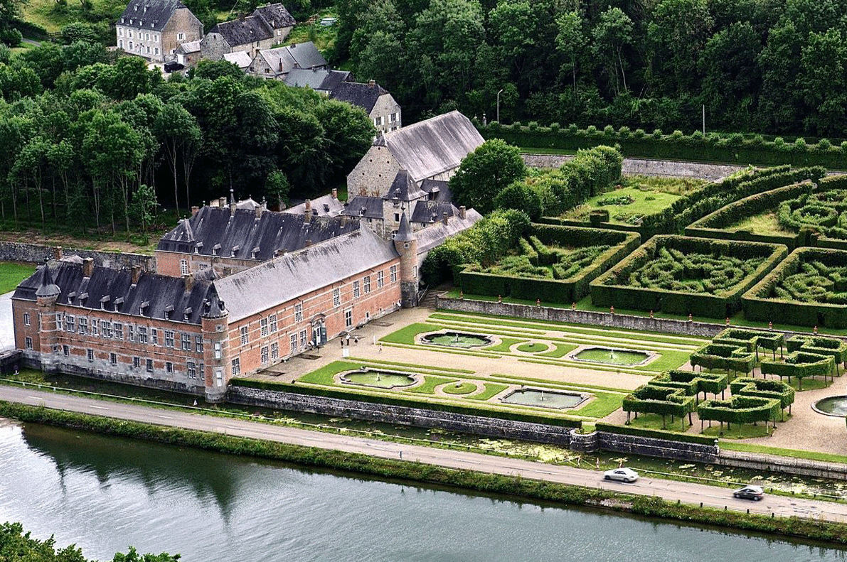 Namur Castle Freyr Guided Tours GO Experience touroperator DMC Belgium Holland