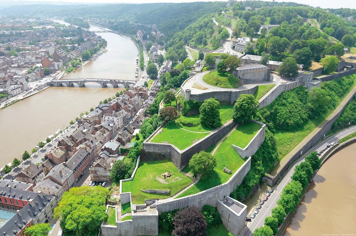 Namur Citadel Guided Tours GO Experience touroperator DMC Belgium Holland