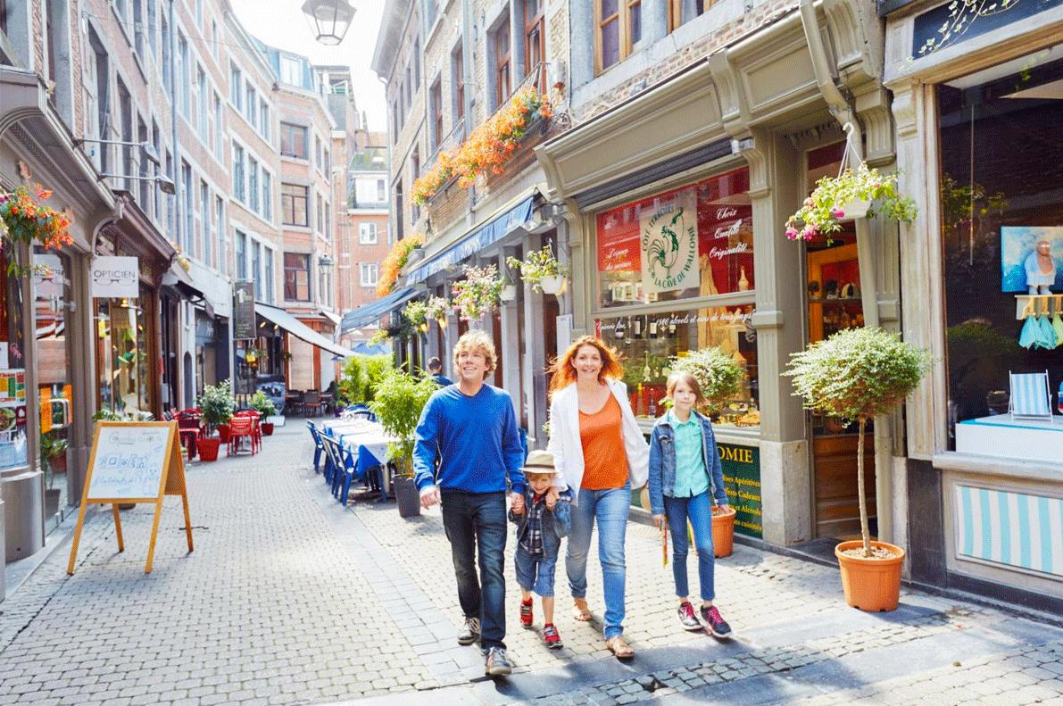 Namur Shopping Guided Tours GO Experience touroperator DMC Belgium Holland