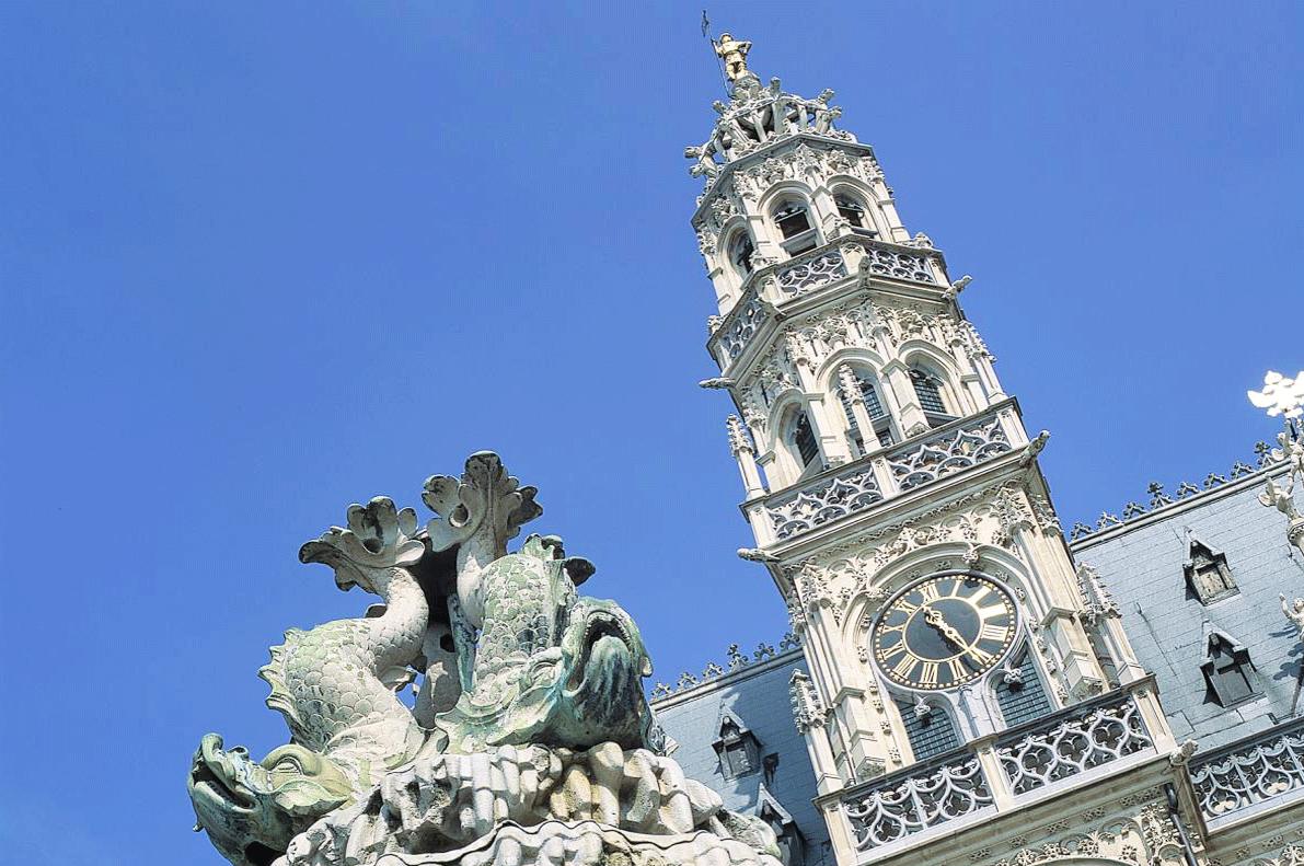 Oudenaarde City Hall Belgium GO Experience beer tour touroperator DMC Belgium Holland