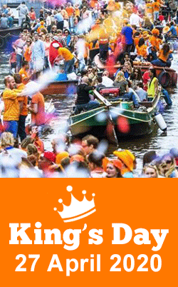 King's Day Holland 2020 Amsterdam guided tours GO Experience tour operator DMC Holland the Netherlands