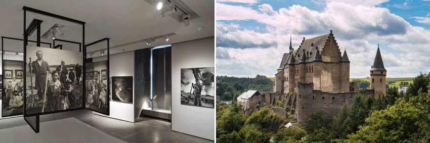 The Family of Man exhibition - Vianden Castle Luxembourg GO Experience guided tours